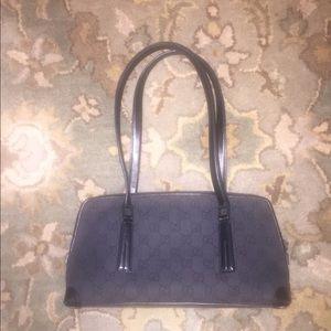 """Small Black Gucci shoulder bag 12""""x6"""""""